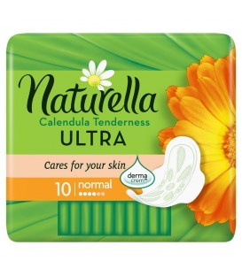 Naturella Ultra Normal Calendula Tenderness Podpaski x10