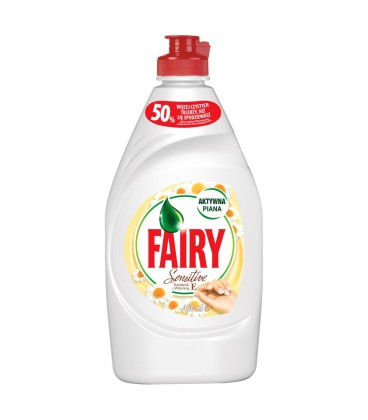Fairy Sensitive Chamomile & Vit E Płyn do mycia naczyń 450 ml