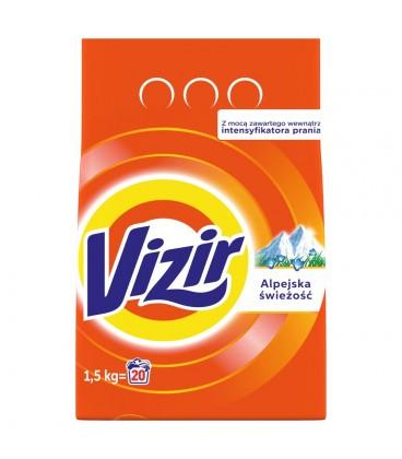 Vizir Alpine Fresh Proszek do prania 1.5KG, 20prania
