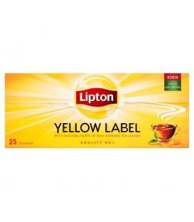 Lipton Yellow Label Herbata czarna 50 g (25 torebek)