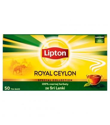 Lipton Royal Ceylon Herbata czarna 100 g (50 torebek)