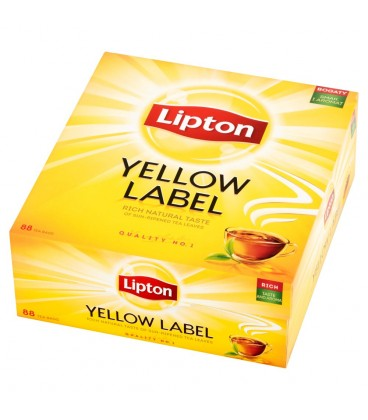 Lipton Yellow Label Herbata czarna 176 g (88 torebek)