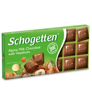 Schogetten chocolate with hazelnuts 100g