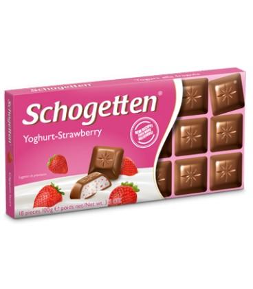 Schogetten yoghurt strawberry 100g