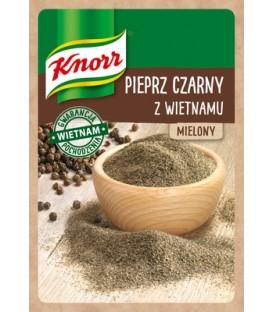 Knorr Pieprz Czarny Mielony z Wietnamu 16g