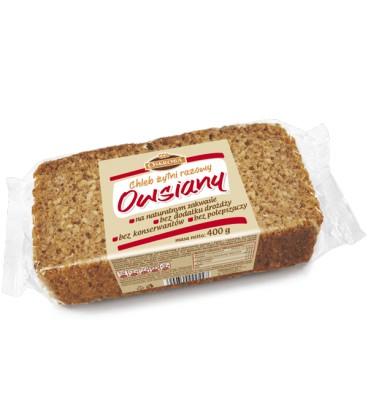 Oskroba chleb razowy owsiany krojony 330g