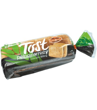 Oskroba chleb tostowy pełnoziarnisty 500g