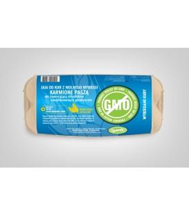 Wybiegane Kury Jaja Wolny Wybieg STOP GMO
