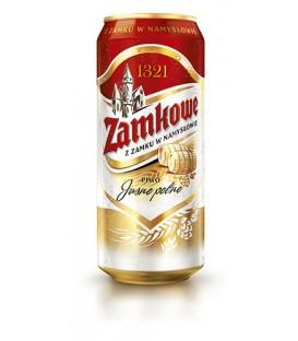 Piwo zamkowe 0,5L puszka