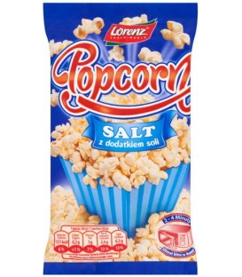 Popcorn solony 100g gotowy do jedzenia