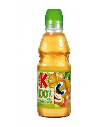 Kubuś 100% top aseptic jabłko sok 0,3L