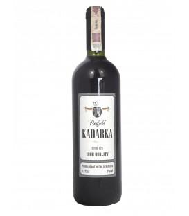 Wino PD Kadarka czerwone półwytrawne 11% 0,75L
