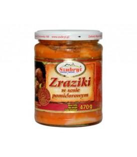 Szubryt Zraziki domowe w sosie pomidorowym 470g