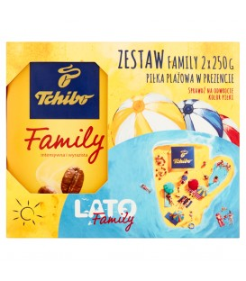 Tchibo Family 2x250g + piłka