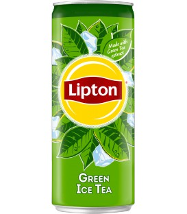 Lipton Green Tea Sleek 0,33L.puszka