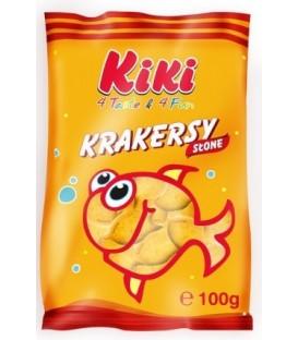Kiki krakersy słone rybka 100g