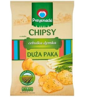 Przysnacki Chipsy Cebulka Dymka Megapaka 225g.