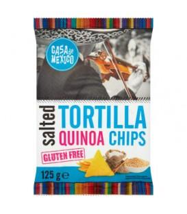 CM Tortilla Chips Solone z Quinoa Bezglutenowe125g