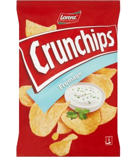 Lorenz Crunchips Fromage 140g.