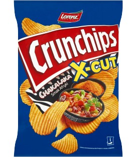 Lorenz Crunchips X-Cut Chakalaka 140g.