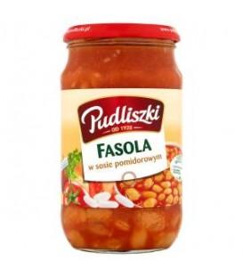 Pudliszki Fasolka w sosie pomidorowym 620g