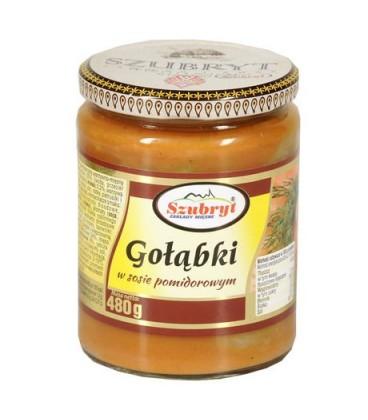Szubryt Gołąbki w sosie pomidorowym 480g