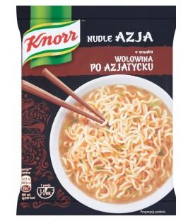 Knorr Nudle Azja Wołowina 68g.