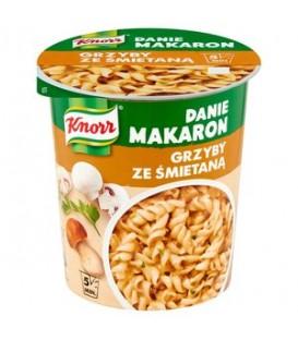 Knorr Danie makaron grzyby ze śmietaną 59g