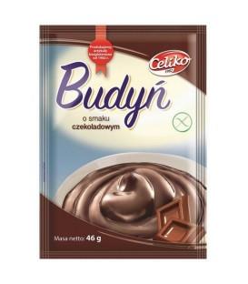 Celiko budyń o smaku czekoladowym b/g 46g