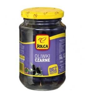 Jolca oliwki czarne bez pestek 350g