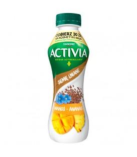 Danone Activia Drink 280g.Mango-Ananas-Len