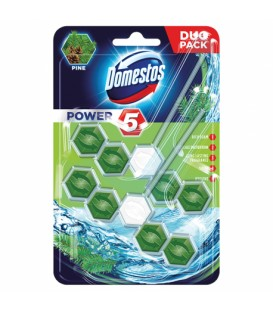 Domestos kostka power5 duo pine 55g