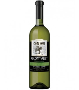 Wino Chochory alazany valley 0,75L 11%
