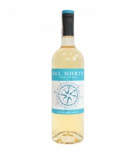 Del Norte wino białe półsłodkie 0,75L