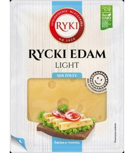 Ryki ser plastry Edam Light 135g