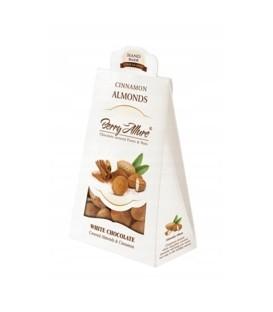 Migdały w białej czekoladzie cynamon 100g