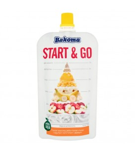 Bakoma Start and Go saszet.Jabł-Ban-Man z jog.120g