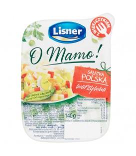 Lisner sałatka warzywna polska 140g + widelczyk