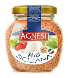 Agnesi sos pesto siciliana 185g