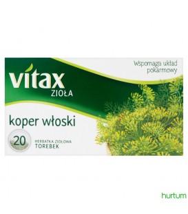 Vitax Zioła Koper Włoski 20 torebek 30g