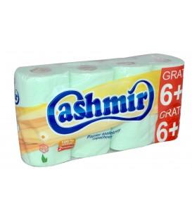 Cashmir papier toaletowy zielony 6+2
