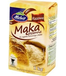 Melvit mąka pszena razowa 1kg