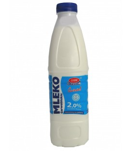 Garwolin Mleko Świeże 2% butelka 1L