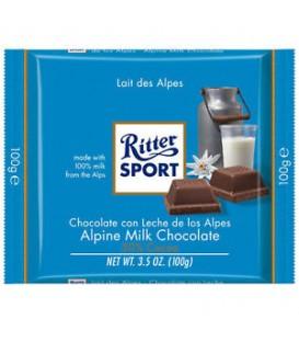 Ritter czekolada mleczna alpejska 100g