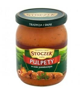Stoczek pulpety w sosie pomidorowym 500g danie got