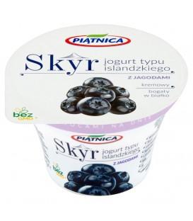 Piątnica Jogurt SKYR z jagodami