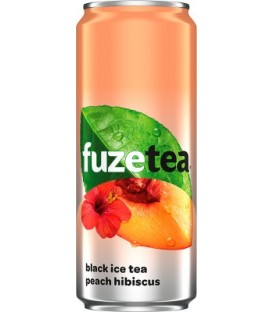 Coca cola Fuze Ice Tea Peach 0,33l