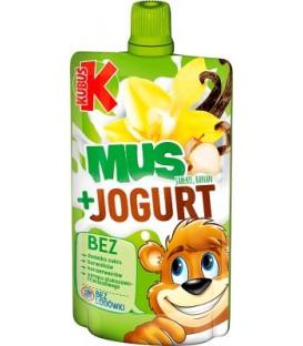 Kubuś Mus Wanilia-Jogurt80g