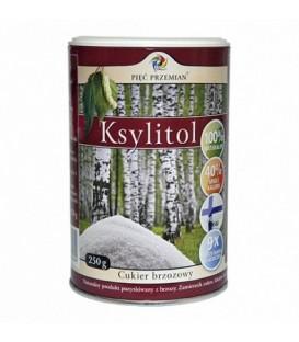 Ksylitol cukier z brzozy 5 przemian 250g