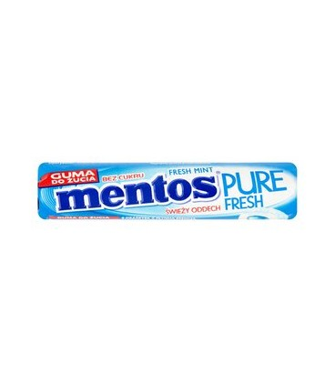 Mentos pure fresh mint roll 15,5g